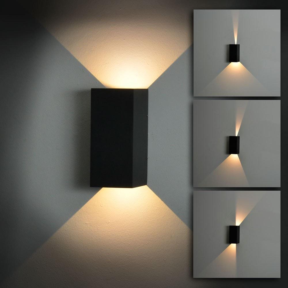 Change LED-Wandlampe mit verstellbaren Winkeln