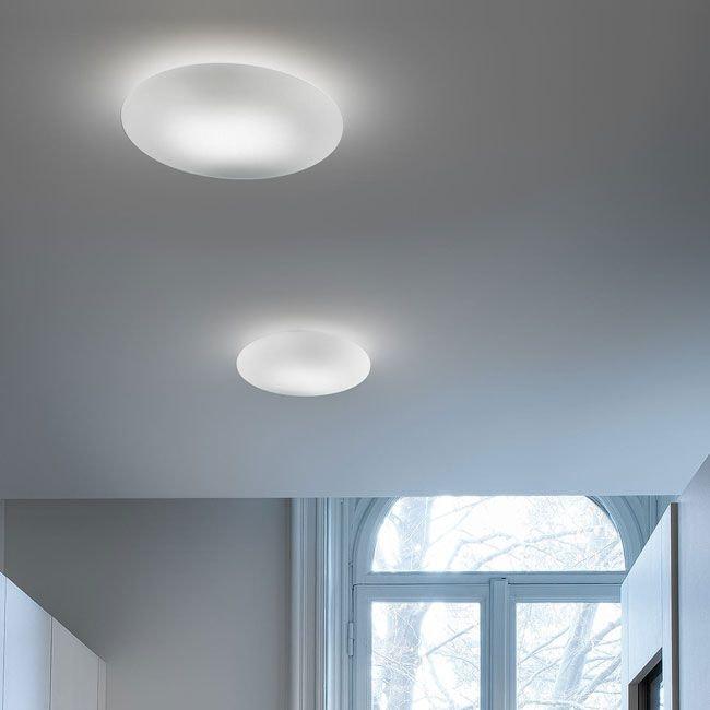 Panzeri Disco LED Glasleuchte für Wand oder Decke 2