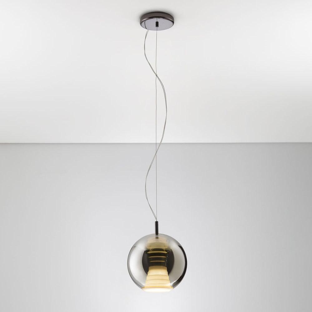 Fabbian Beluga Royal LED-Pendelleuchte Ø20cm 3