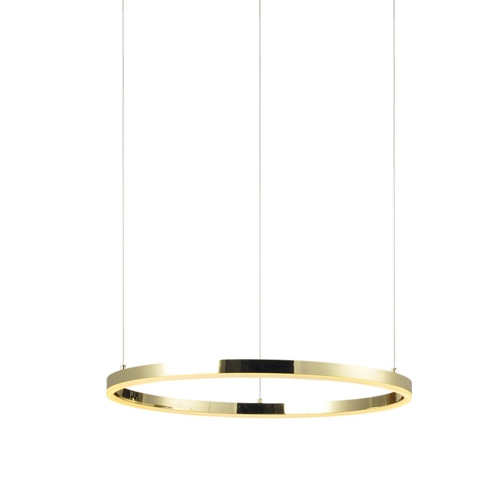 s.LUCE Ring 60 LED-Hängeleuchte 5m Abhängung 15