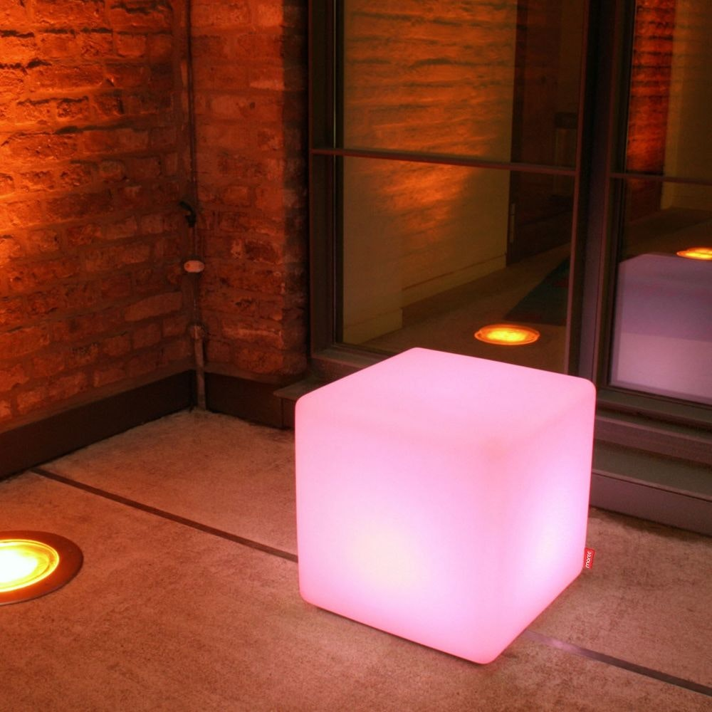 Moree Cube Outdoor LED Sitzwürfel 1