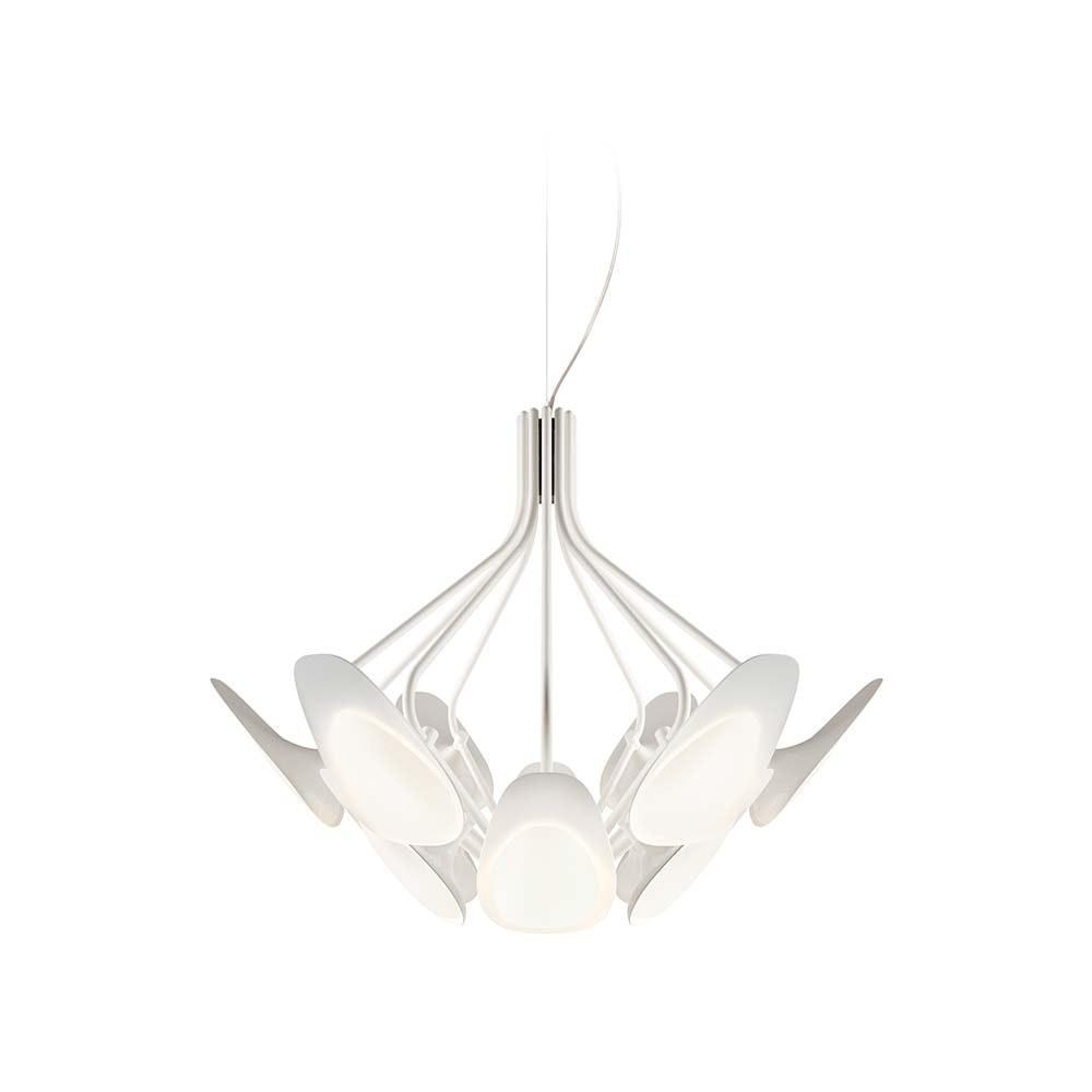 Kundalini LED Designleuchte Peacock mit 12 Armen Ø 80cm 1