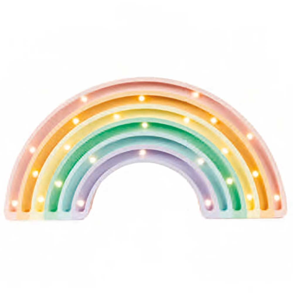 Little Lights Kinder Wand- & Tischleuchte Regenbogen  3