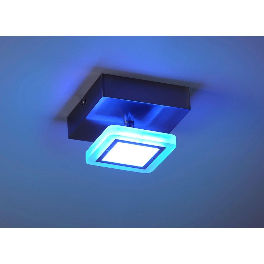 LED Deckenlampe Q-Vidal Kugelgelenk 4, 80W RGBW thumbnail 5