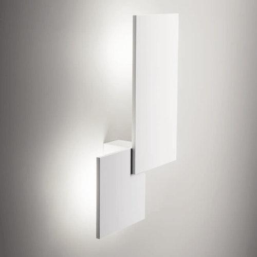 Studio Italia Design Puzzle Double eckig 48cm LED Wand- & Deckenleuchte 1
