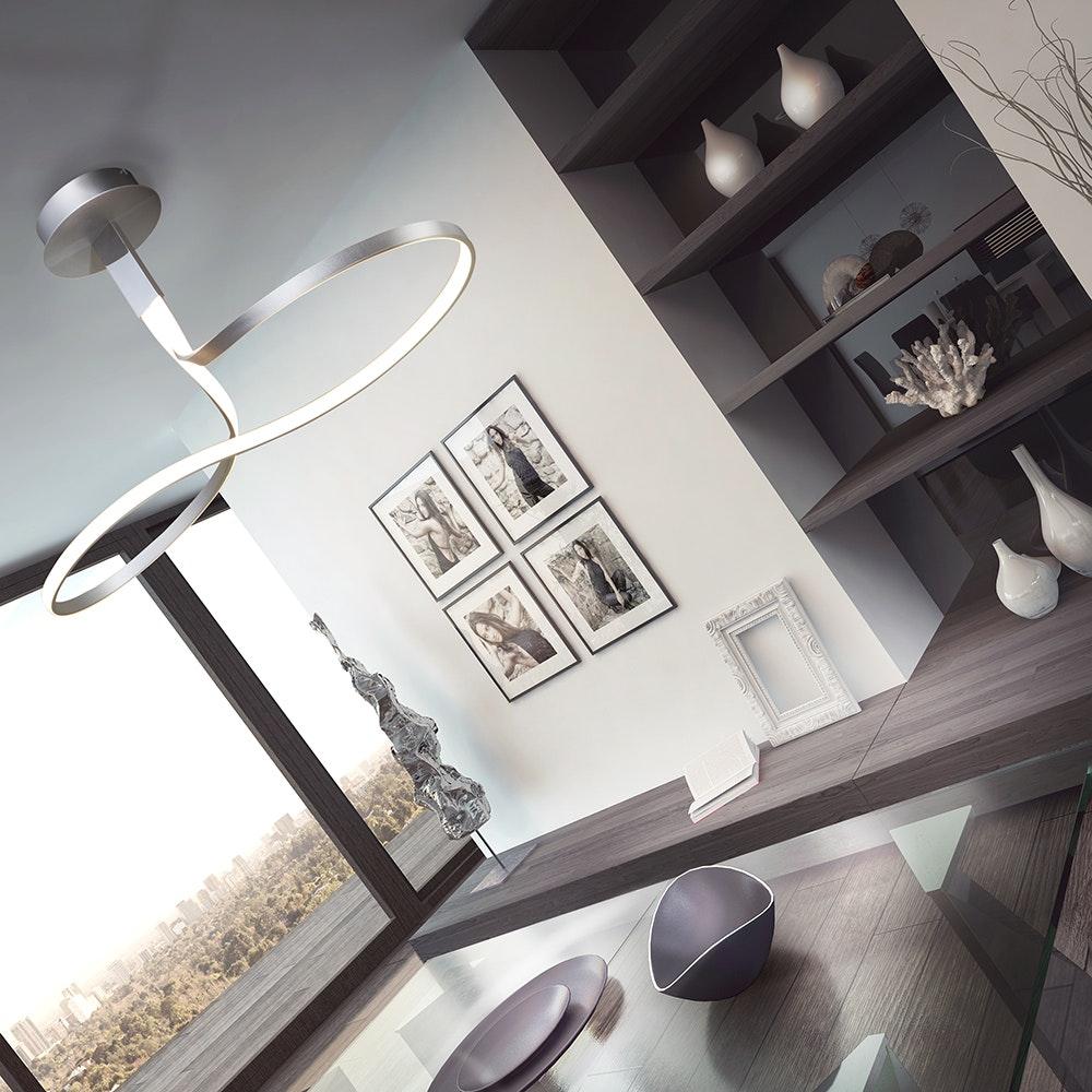 Mantra Nur LED-Deckenleuchte 40W 1-flammig 3