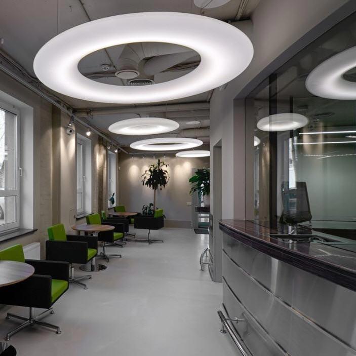 Wever & Ducre LED Hängelampe Gigant 5000lm Warmweiß 2
