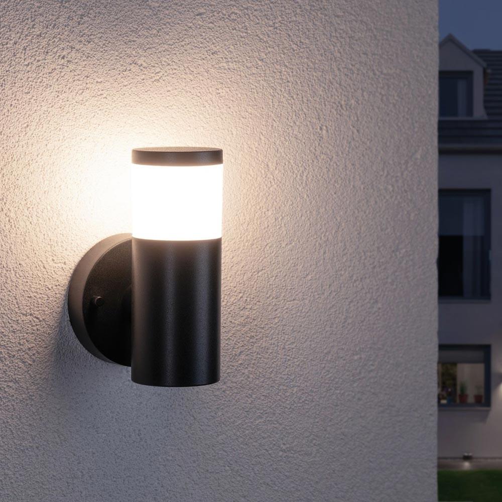 Aussen-Wandleuchte House IP44 230V Grau 1