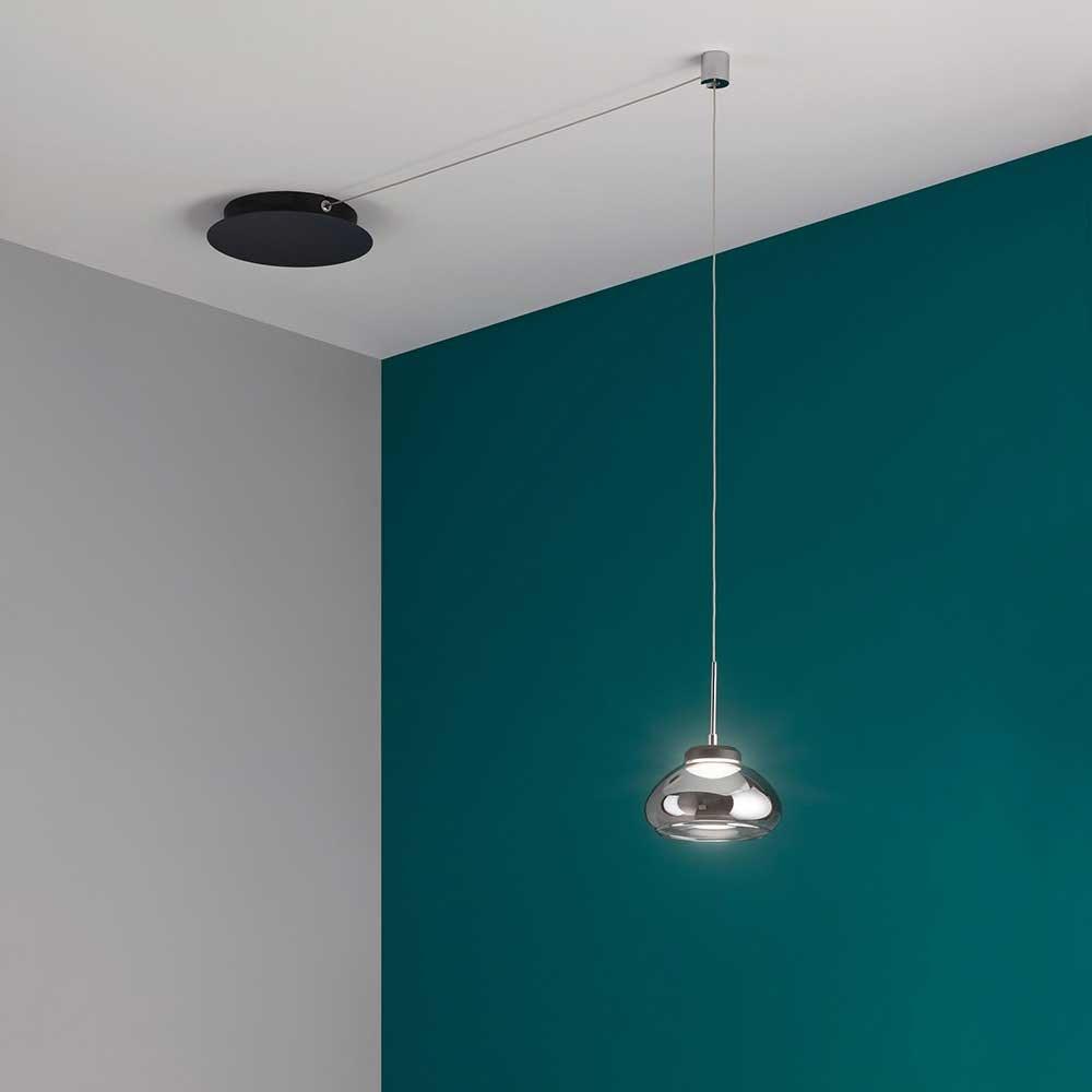 Fabas Luce Arabella LED Pendellampe Glas 4