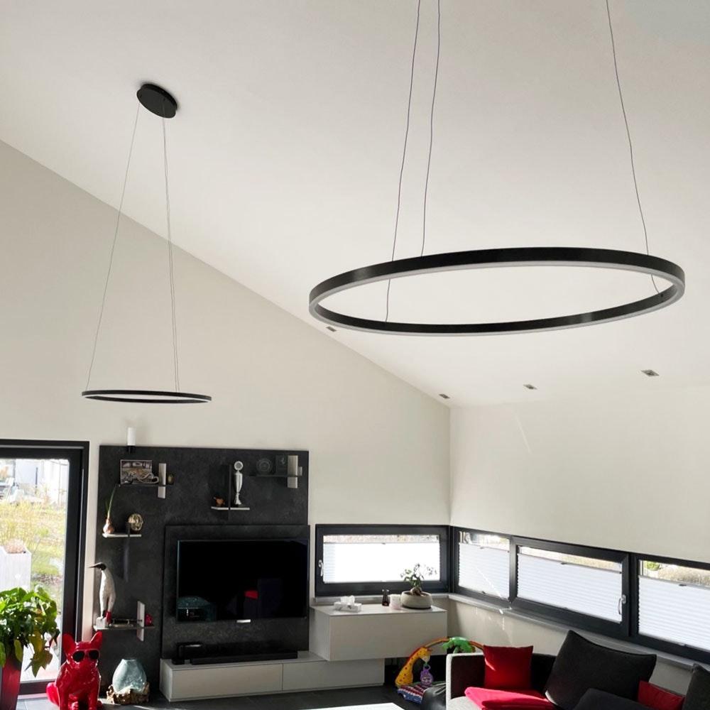 s.LUCE Ring 80 direkt oder indirekt LED Pendelleuchte 5