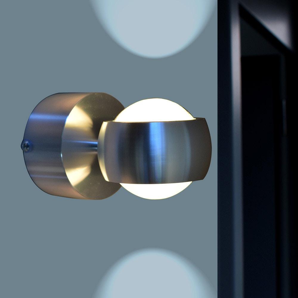 Ulm Design LED-Außenwandleuchte IP44 Alu-Matt thumbnail 3