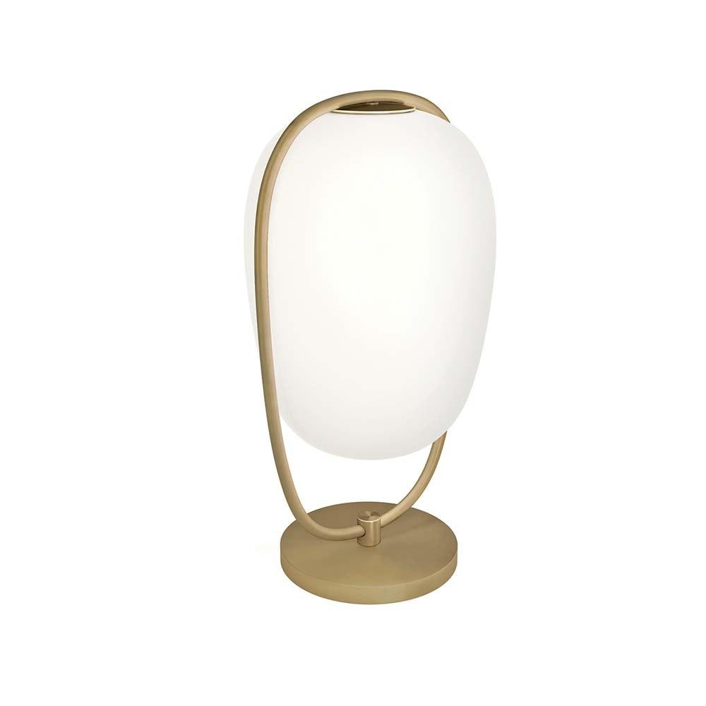 Kundalini Tischleuchte Lanna 40cm mit Glasschirm thumbnail 4