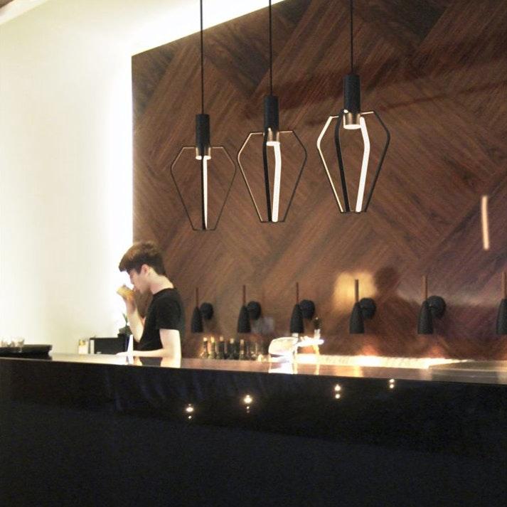 Ragno LED Pendelleuchte in außergewöhnlichem Design thumbnail 3