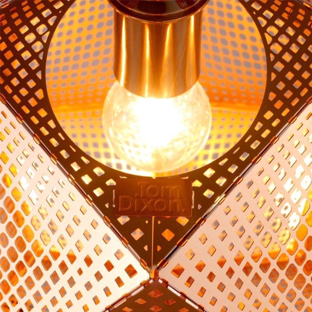Tom Dixon Etch Metall Hängeleuchte Effektlicht 7