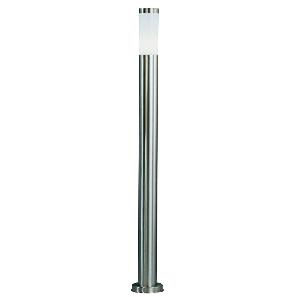 Boston Stand-Aussenleuchte 110cm Edelstahl