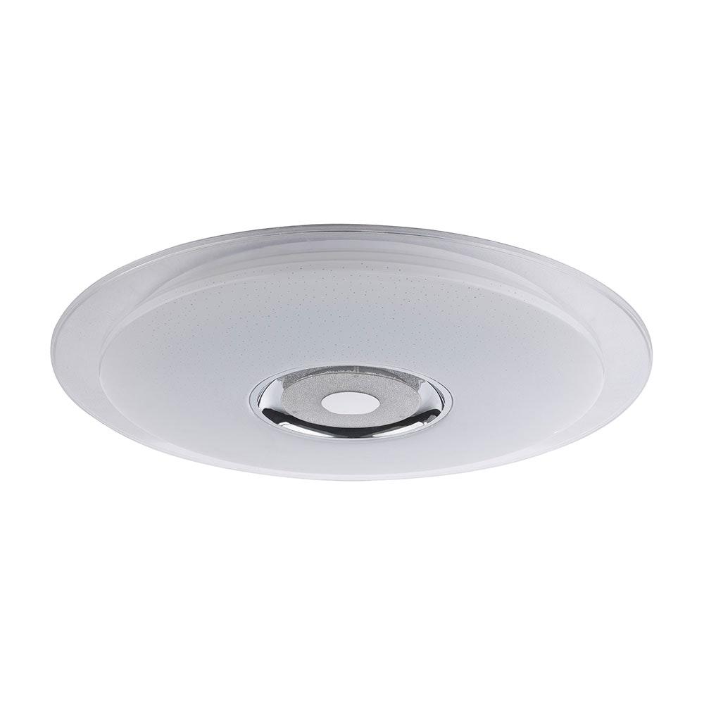 LED Deckenleuchte Tune Sparkle Decor Lautsprecher CCT APP Weiß, Opal, Klar 3