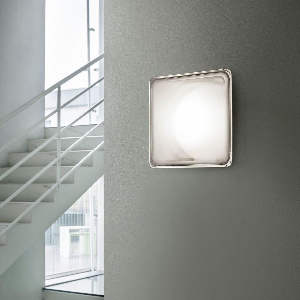 Luceplan LED Wand- & Deckenleuchte Illusion 23x23cm 1