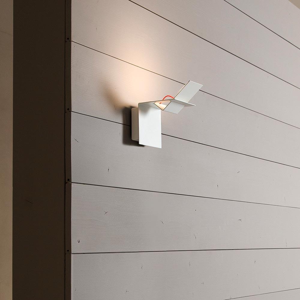 Karman Lamina LED-Außen Wandleuchte IP65 Weiß 2