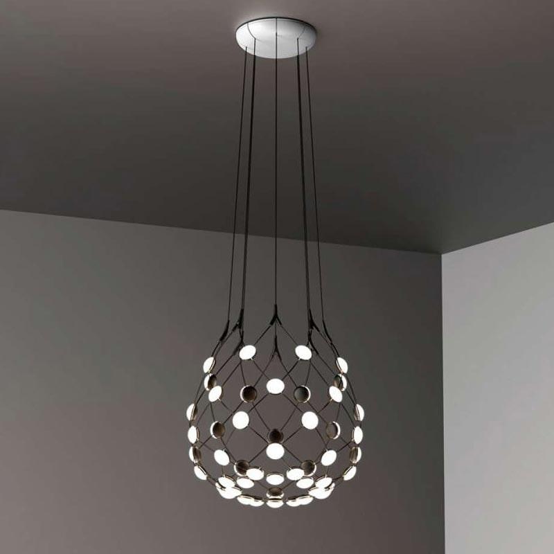Luceplan LED Hängeleuchte Mesh Ø 55cm, max. 500cm thumbnail 3