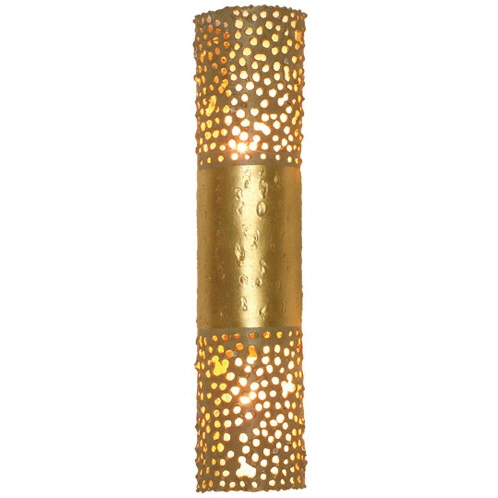 Wandleuchte 2-flammig Amazone Eisen Gold 2
