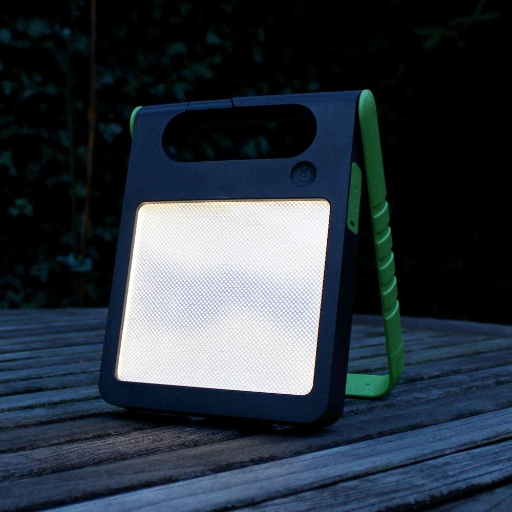 Mobile LED Solarlampe Padlight IP44 Grün 5