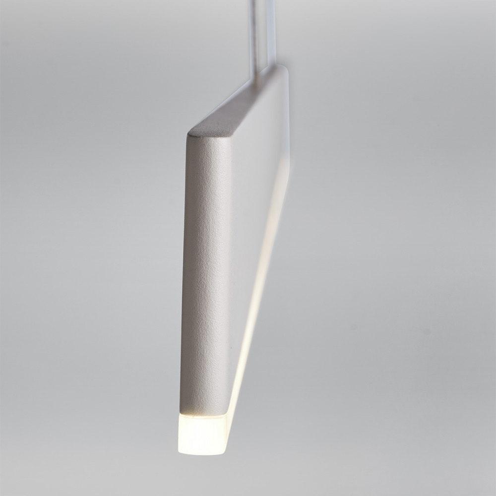 Licht-Trend LED Hängeleuchte Slim L dimmbar 3400lm Weiß 1
