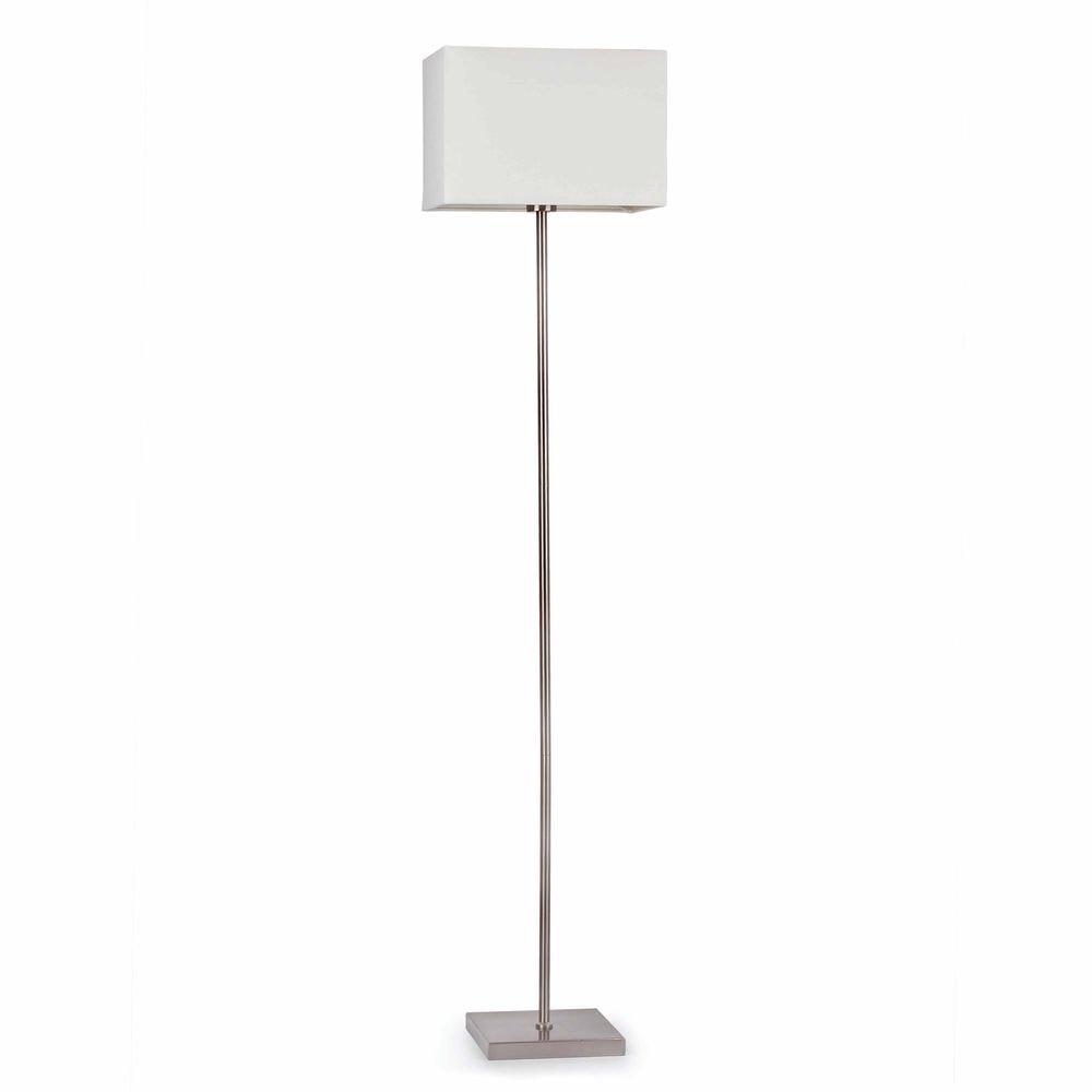 Stehlampe THANA IP20 Nickel, Weiß
