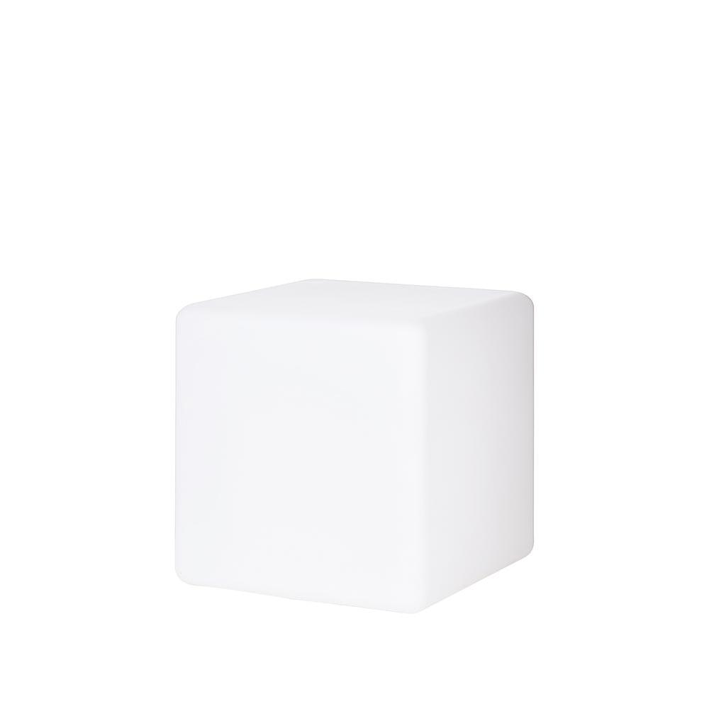 Luna Aussenleuchte Würfel 40 x 40cm Weiß 2