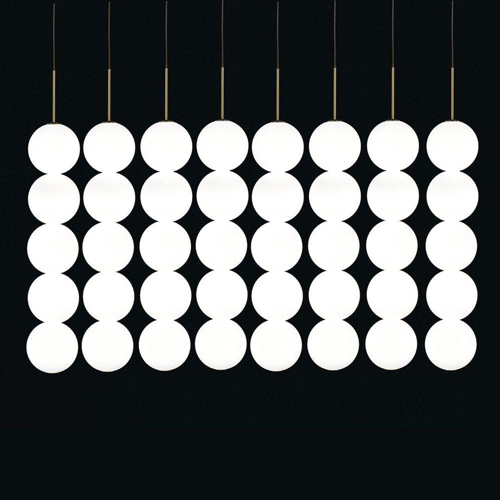 Terzani Abacus LED Design-Hängeleuchte 5er 1