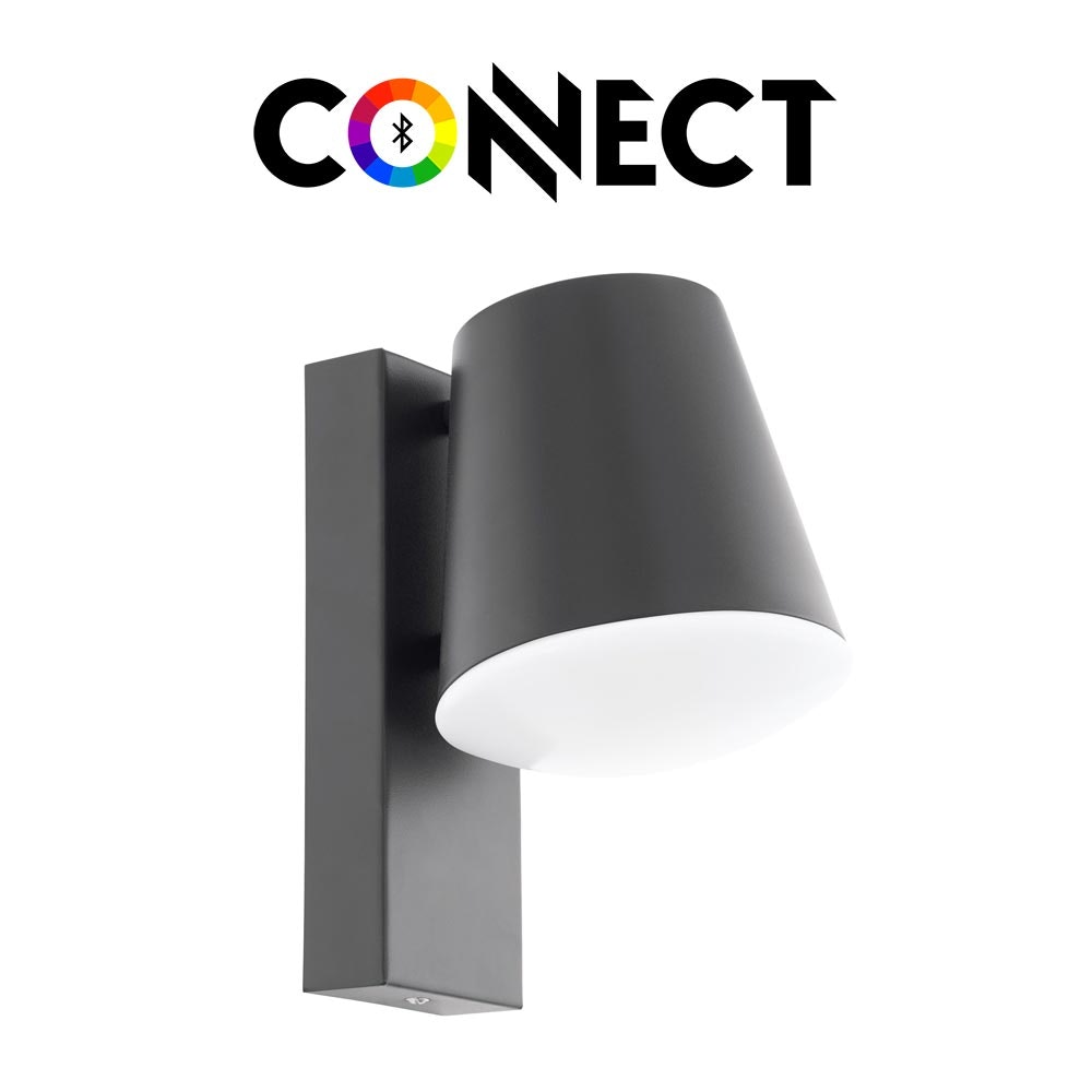 Connect LED Aussen-Wandlampe 806lm IP44 Warmweiß 1