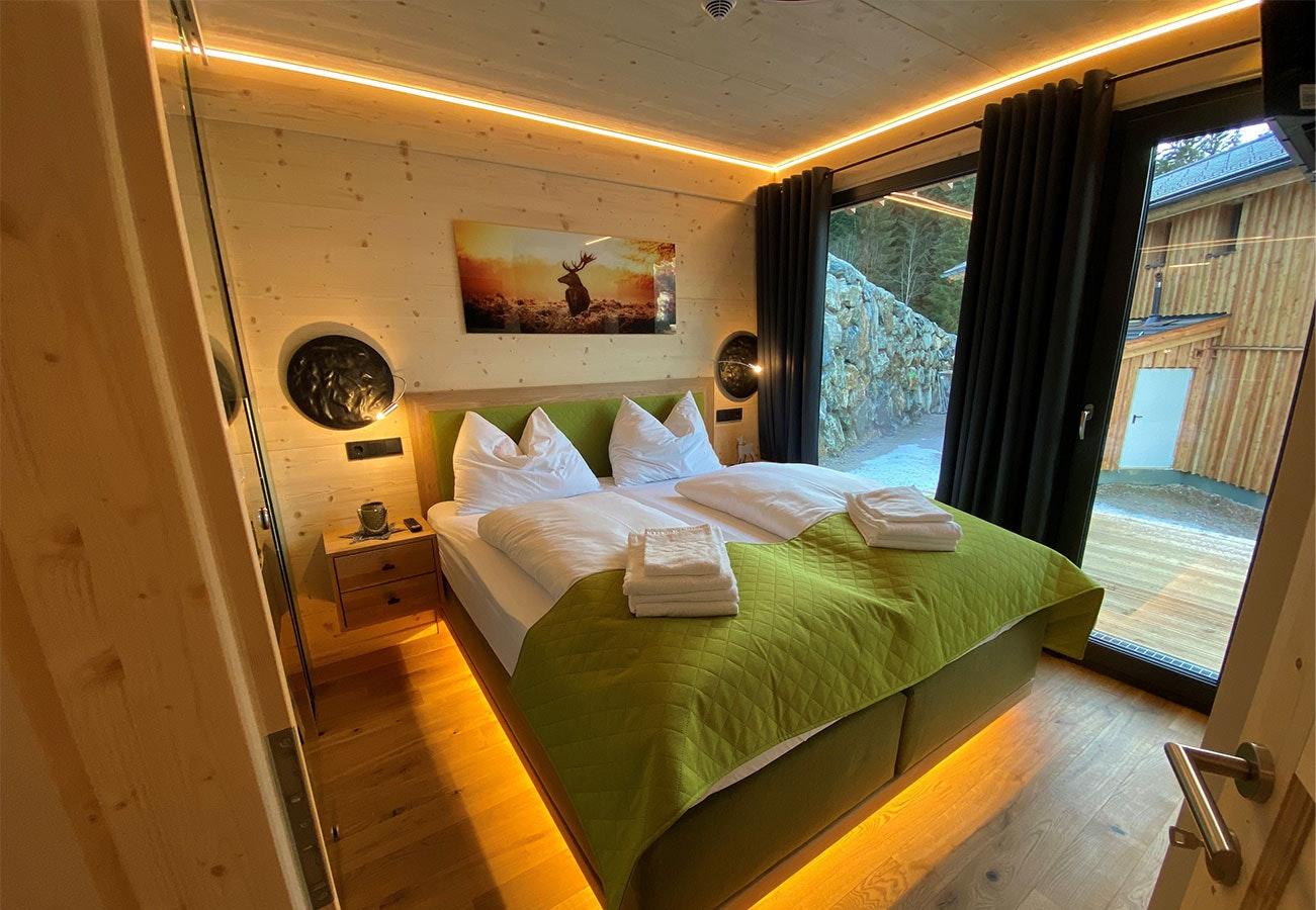 Indirekte Schlafzimmerbeleuchtung LED Stripes