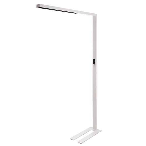 LED Büro Stehlampe Motion 9600lm Präsenzmelder & Tageslichtsensor Weiß