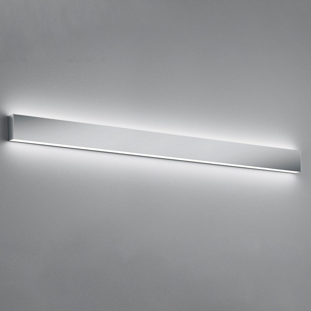 Helestra LED Wandleuchte Vis IP44 Chrom