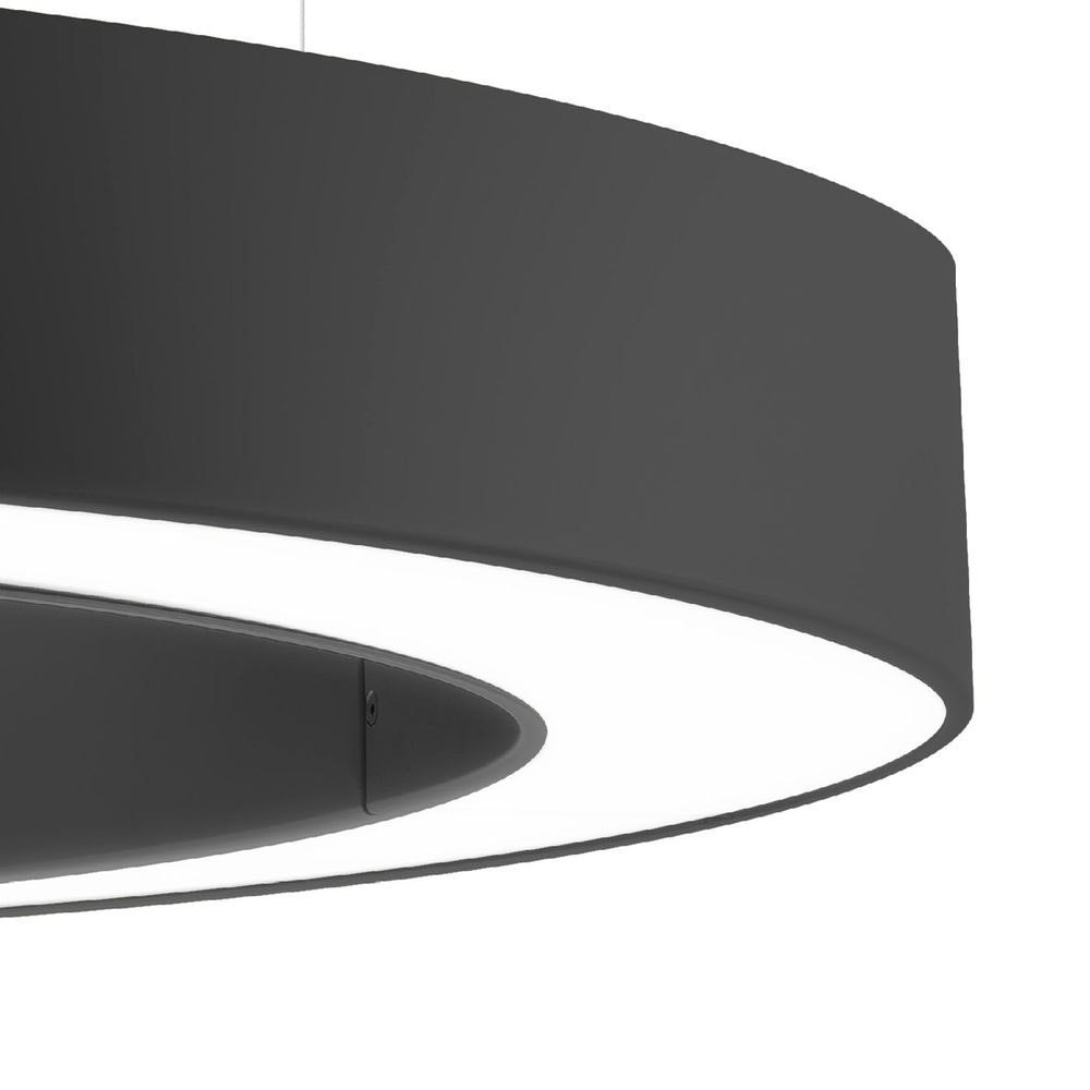 Panzeri Golden Ring LED-Pendelleuchte dimmbar 2