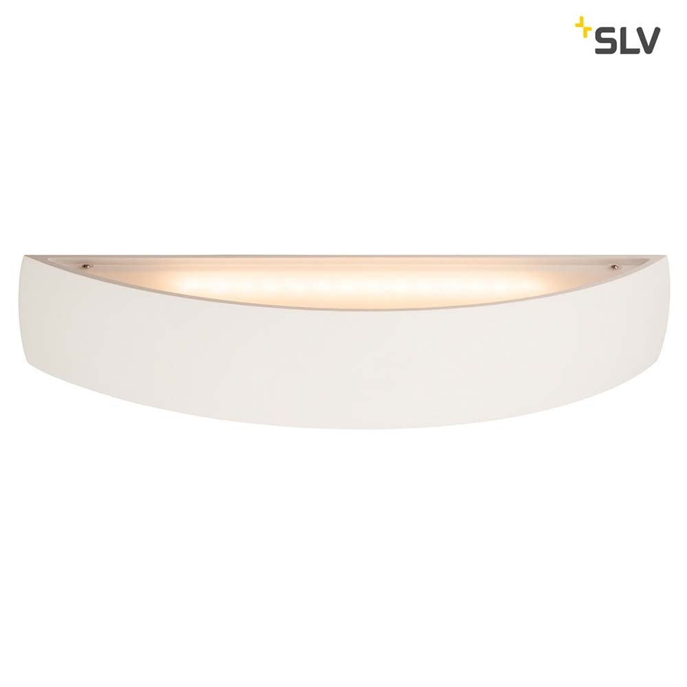 SLV Plastra Gips Wandleuchte LED 3000K Gewölbt Up/Down Dimmbar 3
