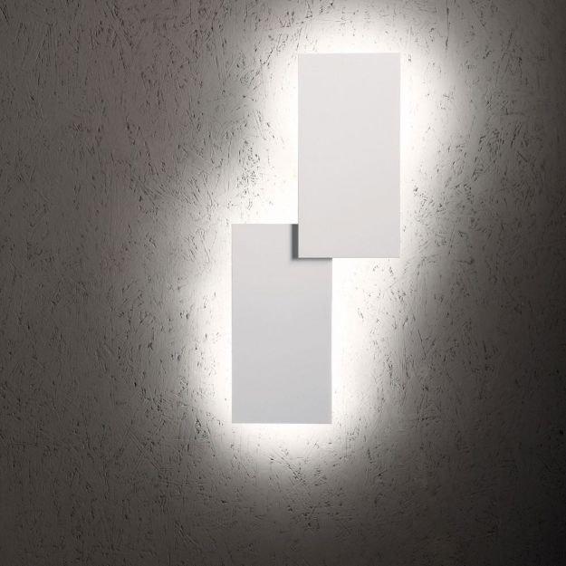Lodes Puzzle Double eckig 66cm LED Wand- & Deckenleuchte thumbnail 5