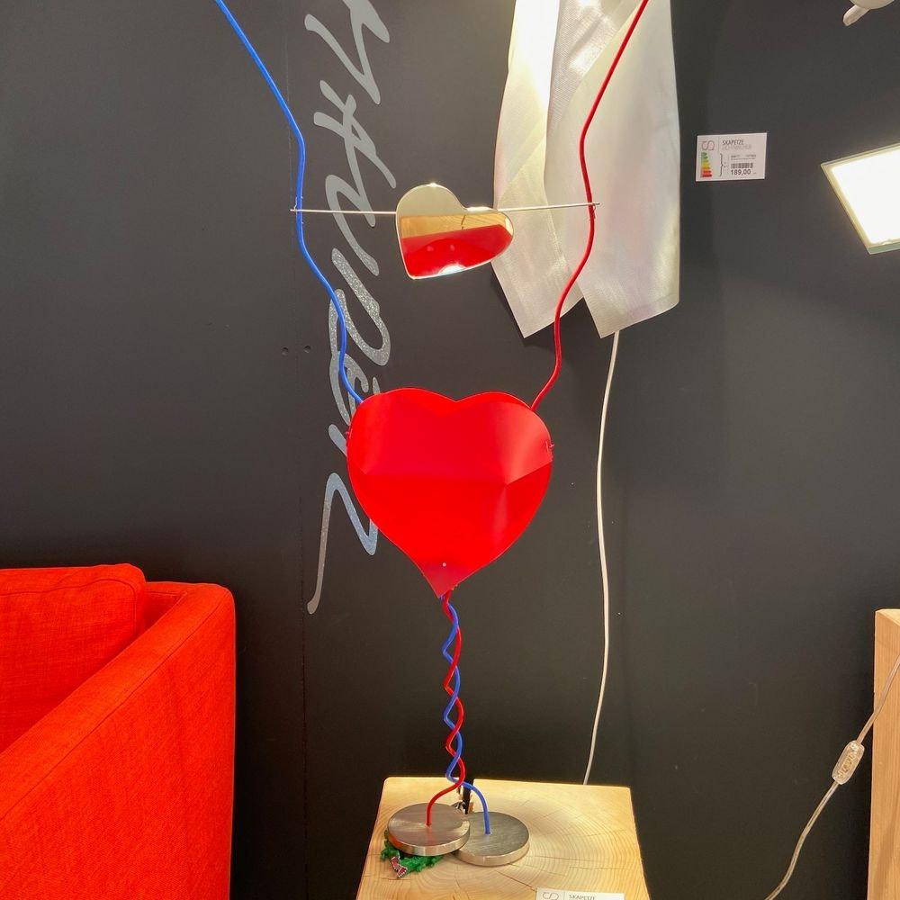 Ingo Maurer Tischlampe One From The Heart Herzleuchte 2