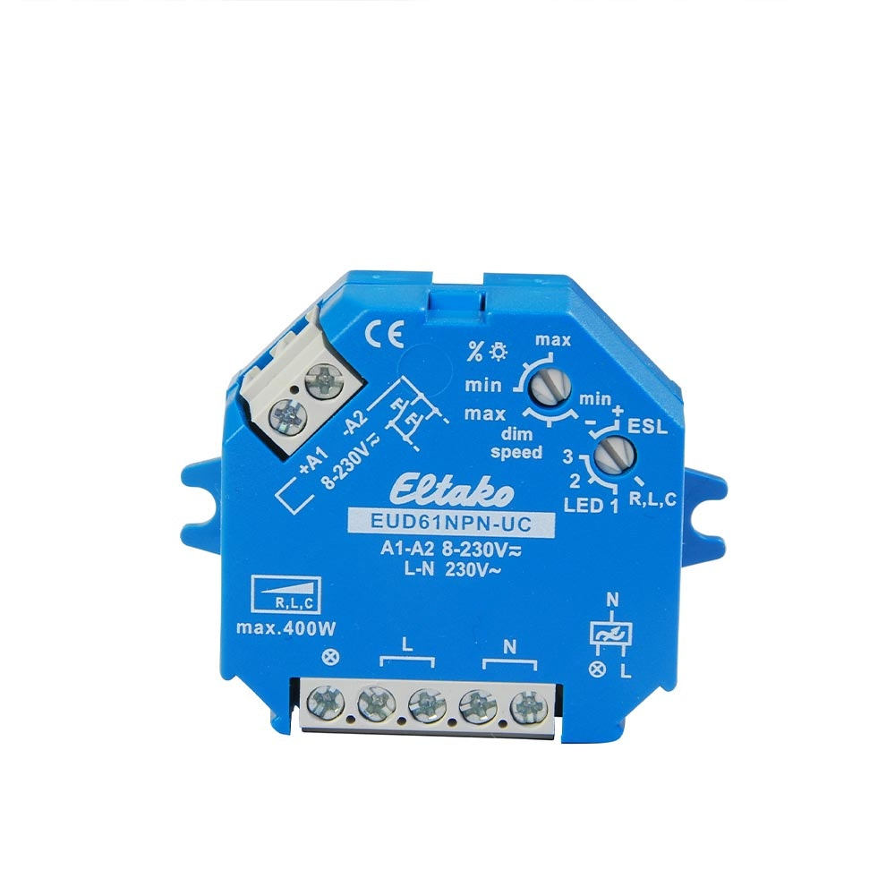 Universal-Dimmer Unterputz dimmbare 230V Leuchtmittel & Trafos