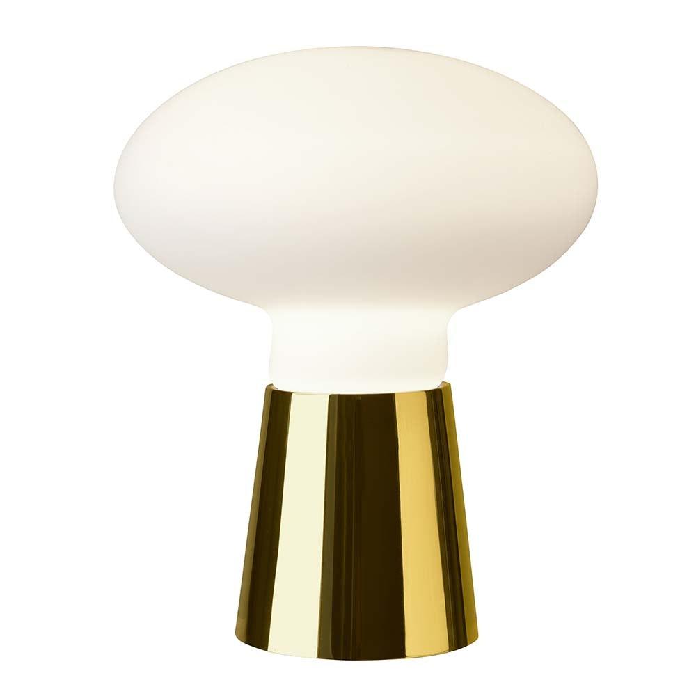 Villeroy & Boch Tischlampe Bilbao 42cm Goldfarben, Weiß 2