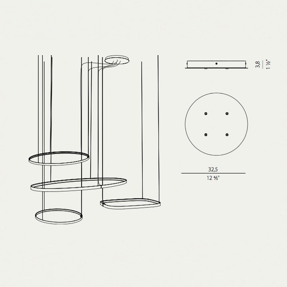 Panzeri Zero Baldachin für Round / Ellipse / Square thumbnail 3