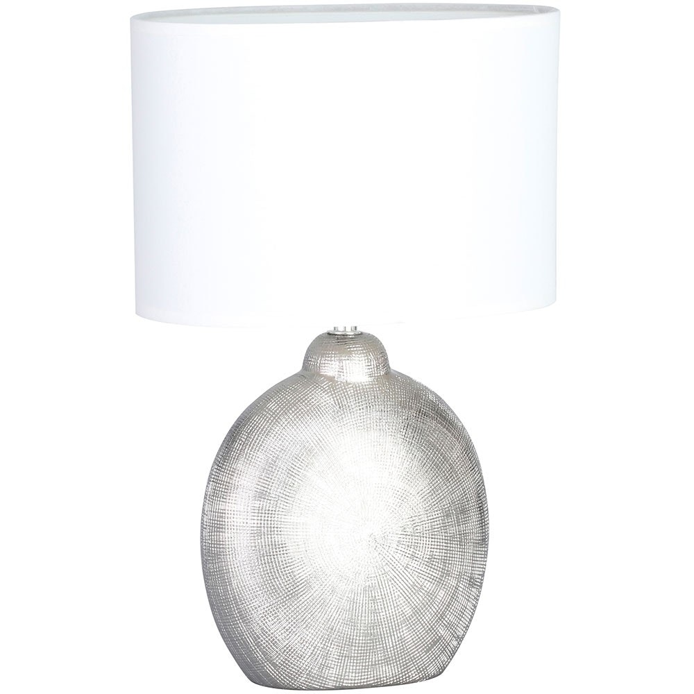Tischleuchte Legend Silberfarben