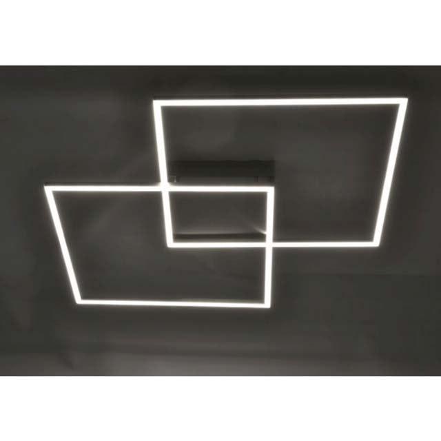 LED Deckenlampe Q-Inigo 2x 28W CCT 8
