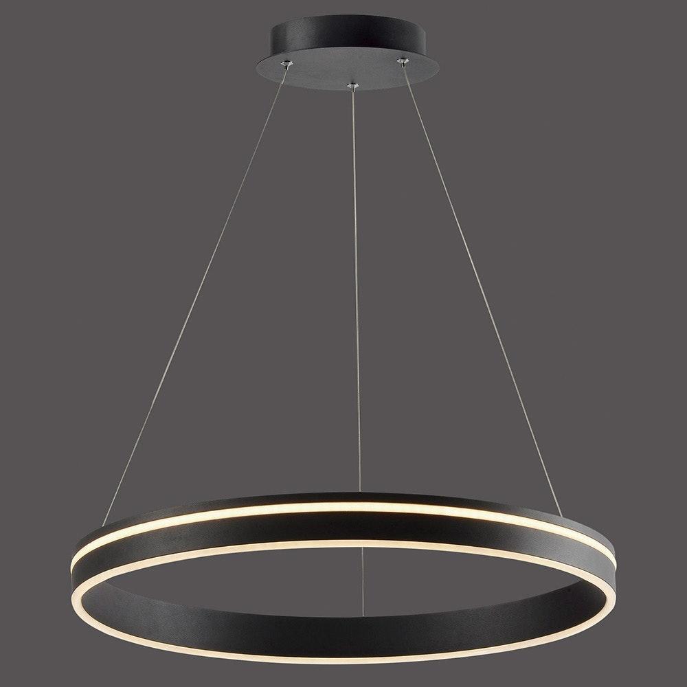 LED Hängelampe Q-Vito Ø59cm CCT Anthrazit 2