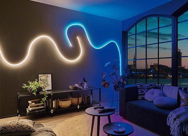 Indirekte Beleuchtung mit LEDs