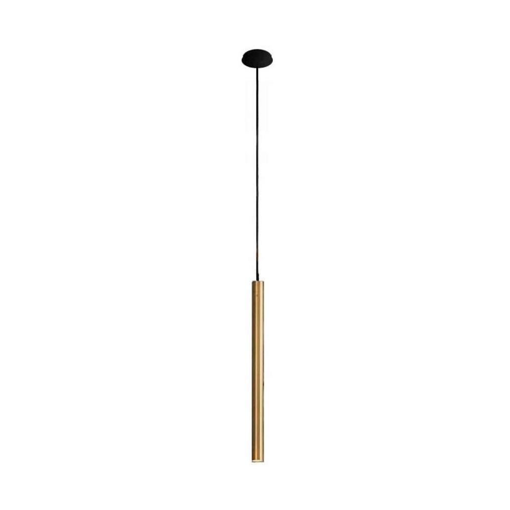 Licht-Trend Hängeleuchte Laser Ø 2,5cm Schwarz, Goldfarben 1