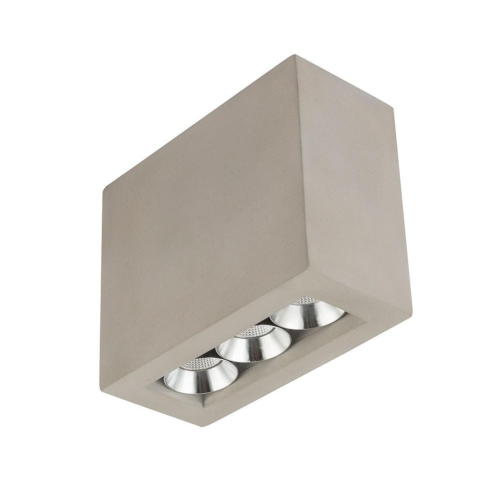 LED Deckenleuchte Timo Grau 3
