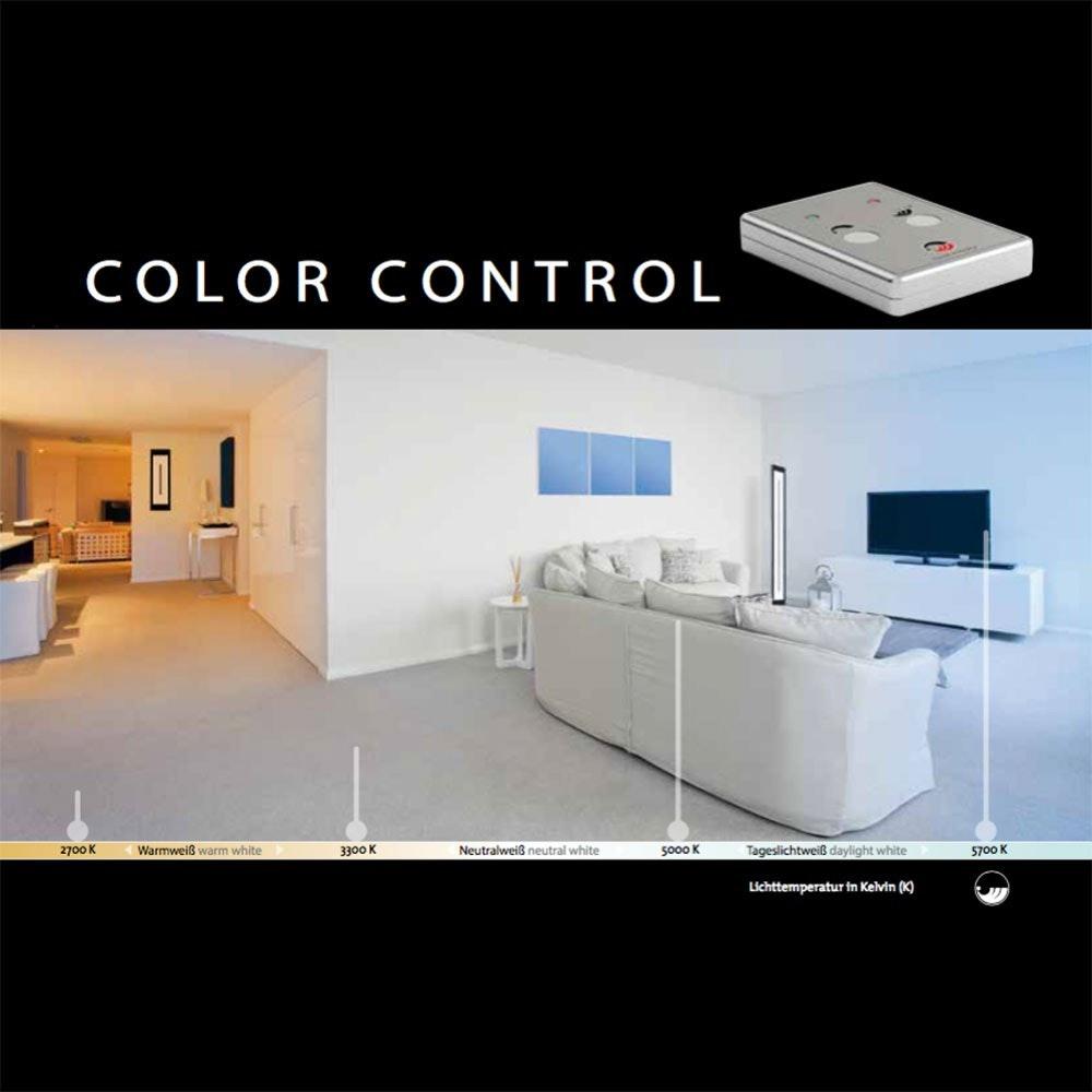 Classic Tec Turn LED Stehleuchte 360° + Fb. 34,5W 4125lm 2700-6500K 2