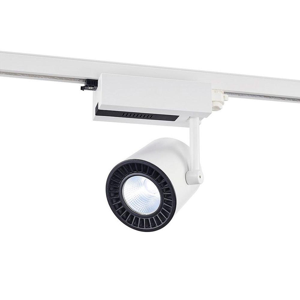 SLV Supros Track 4000 LED Spot inkl. 3P.-Adapter 3150lm 3000K Weiß 1