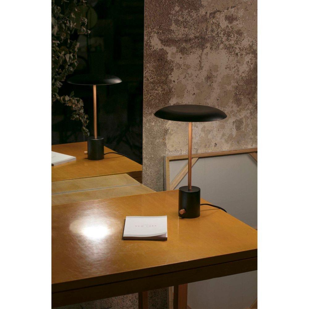 LED Tischlampe HOSHI Schwarz, Kupfer 4