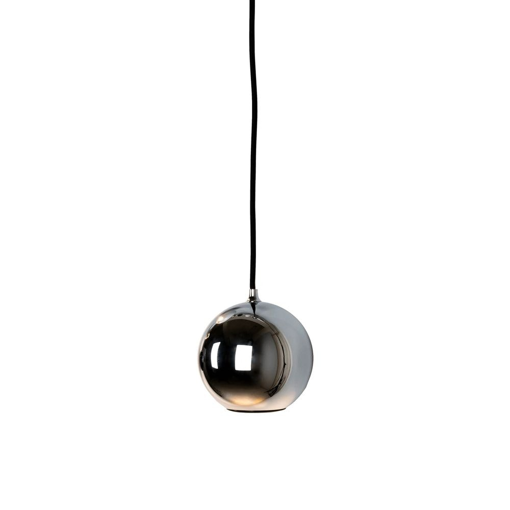Hängeleuchte Boule rund aus Edelstahl Kugelförmig 2